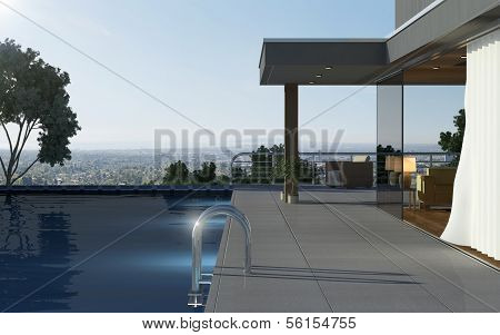 Luxury house with beautiful view
