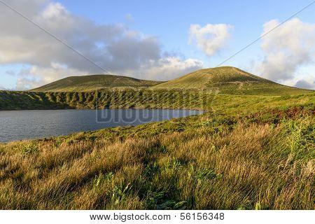 Lake Of Lagoa Rasa, Flores Island, Azores Archipelago (portugal)