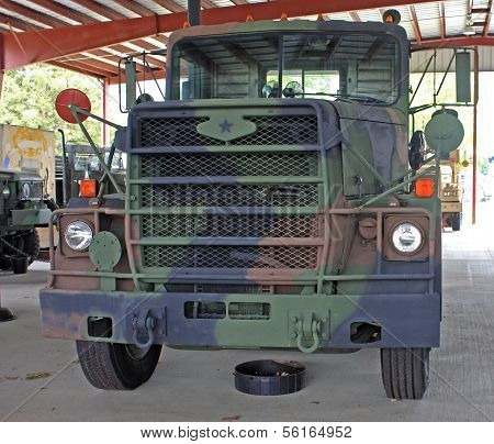 Vintage Military truck