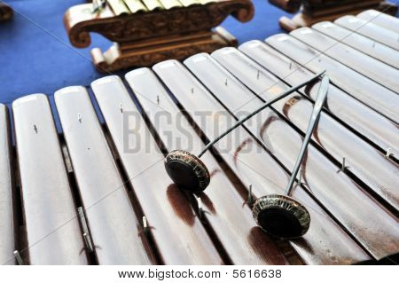 Gamelan Music Instrument Saron