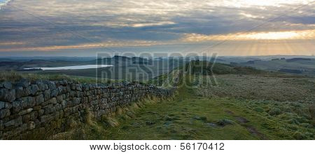 Hadrians Wall Panorama