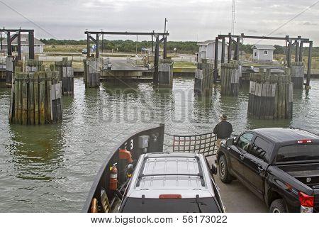 Cape Hatteras To Ocracoke Ferry