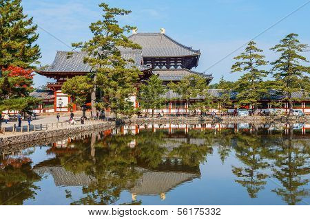 Great Buddha Hall in Todaiji Temple