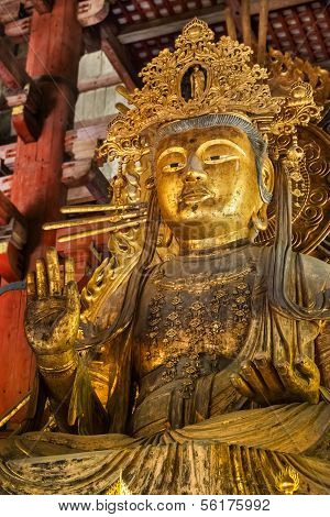 Nyoirin Kannon (Chinese Godess) at Todaiji Temple in Nara