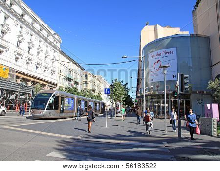 Avenue Jean-medecin In Nice, France