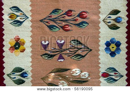 Traditional handmade romanian bookmarks