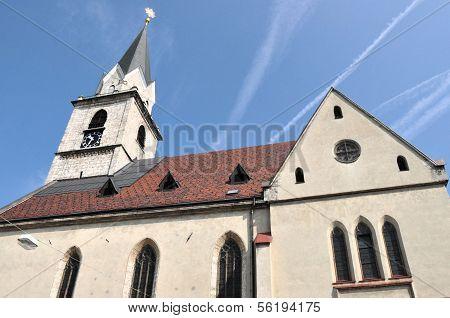 St. Cantianius Parish Church Details, Kranj, Slovenia