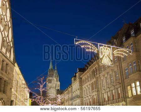 Night Scene Nuremberg