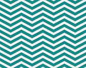 stock photo of zigzag  - Dark Teal and White Zigzag Textured Fabric Background that is seamless and repeats - JPG
