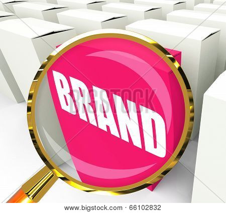 Brand Packet Refers To Branding Marketing And Labels