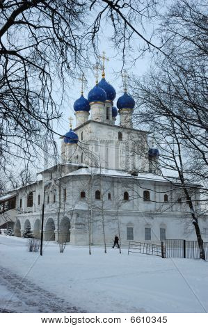Church of Kazan Blessed Virgin in Kolomenskoe, Moscow, Russia