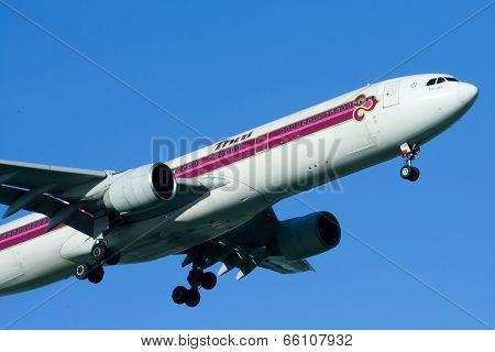 HS-TEM Airbus A330-300 of Thaiairway.