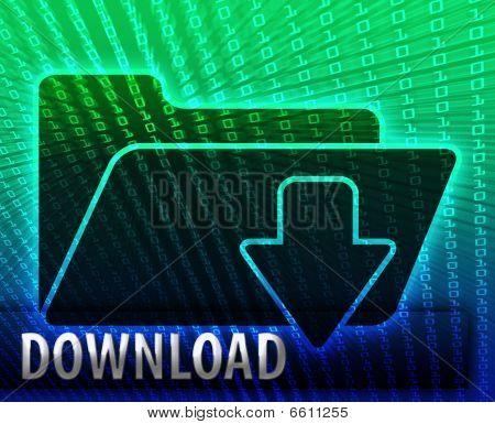 Data Information Download Folder