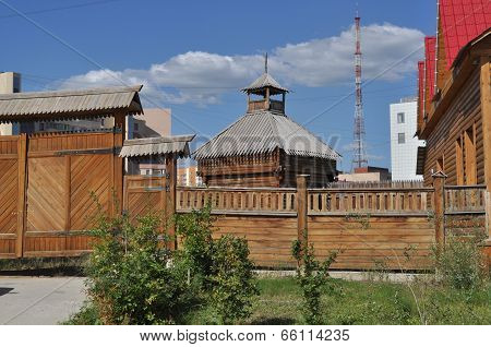 The Old Wooden Town, Yakutsk.