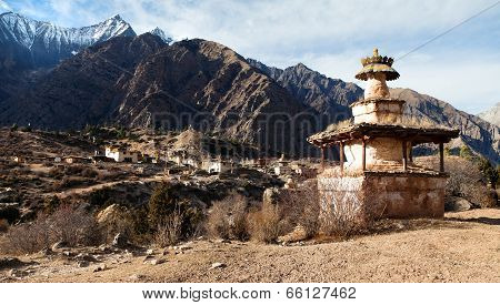 Ringmogaon - Phoksundo Trek - Lower Dolpo - Village In Western Nepal