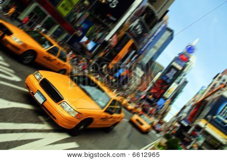New York City Taxi, Times Square