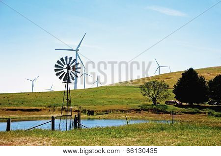 Windmill and Windturbines