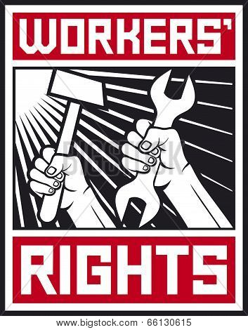 socialist workers rights posters