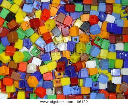 Children's Coloured Cubes