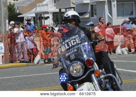 Margate September 5, 2009: Hero Thrill Show Motorcycle Rider
