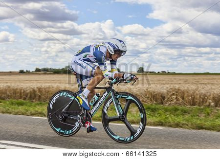 The Cyclist Marco Marcato