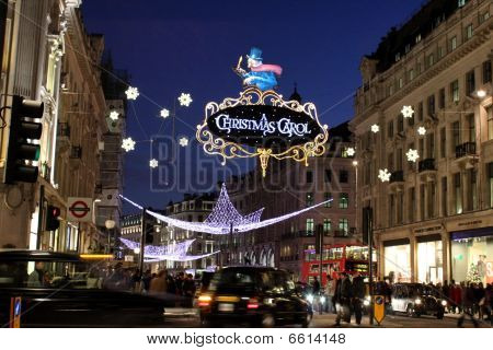 Oxford Street London Christmas Lights
