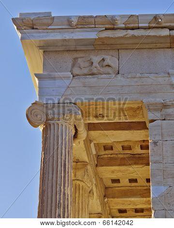 Athena Niki temple (detail), acropolis of Athens Greece