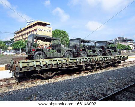 Bogie Heavy Flat Wagon (BFH.) no 67