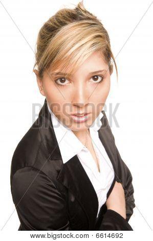 Mujer de retrato joven