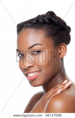 Black Beauty Smiling