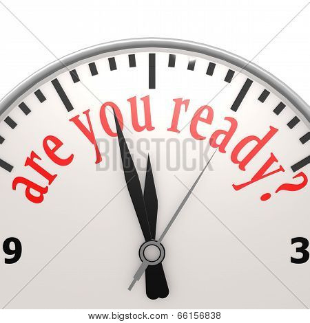 Are You Ready Clock