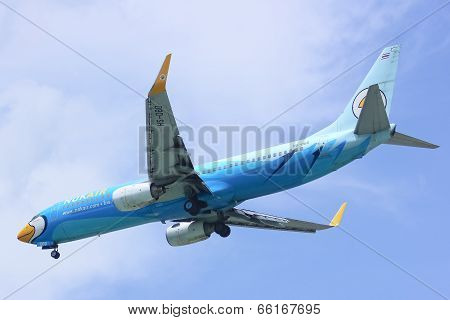 -DBD Boeing 737-800 with winglet of NokAir
