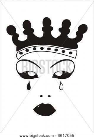Weinen Queen
