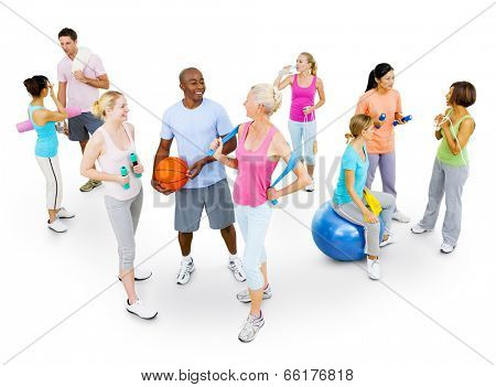 Multi-Ethnic Fitness Group