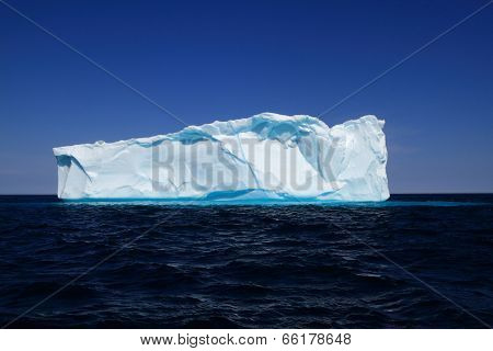 Iceberg Near To The West Coasts Of Greenland