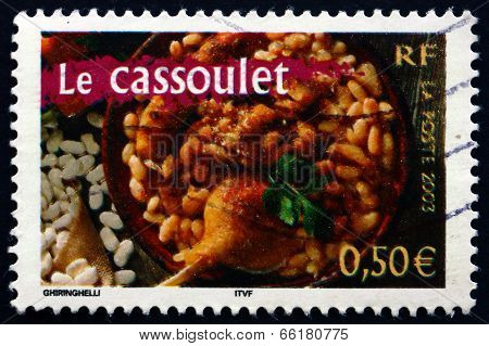 Postage Stamp France 2003 Cassoulet, Food
