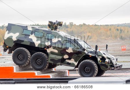 Bulat armored vehicle SBA-60K2 (Russia)