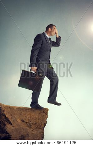 Visionless Businessman