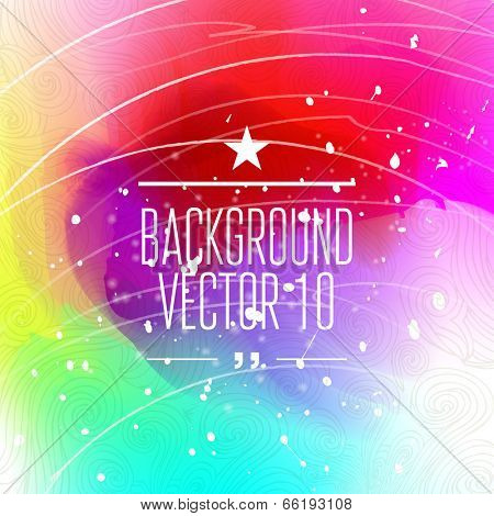 Colorful abstract background for business artwork. Vector Illustration, Graphic Design Editable For Your Design.