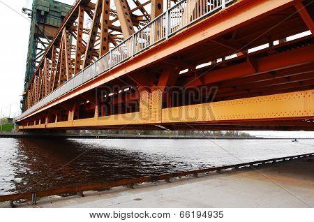 Part Of Lift Bridge.