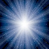 picture of starburst  - vector abstract background with starburst - JPG