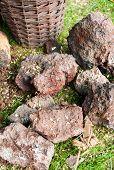 stock photo of iron ore  - Hand - JPG
