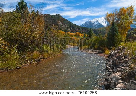 Crystal River Colorado Fall Colors