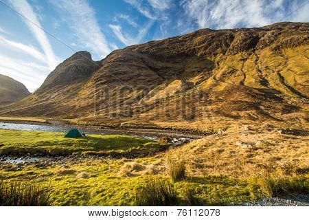 Glen Etive, Scottish Higland, Scotland, UK