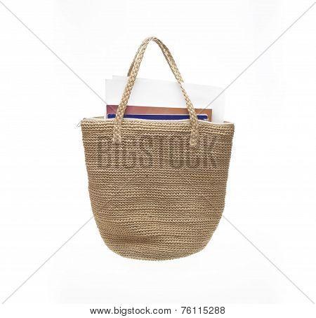 Crochet Bag With Thread