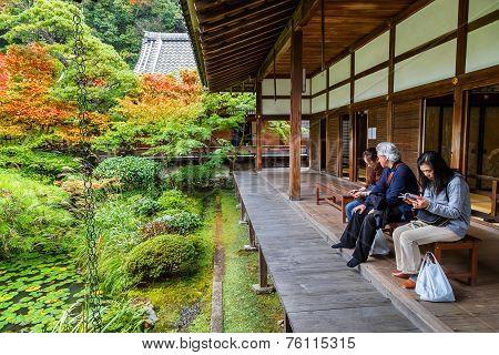 Eikando Zenrin-ji Temple in Kyoto Japan