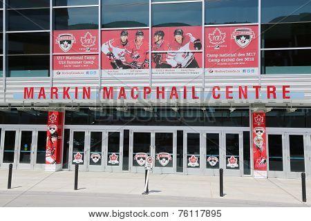 Markin MacPhail Hockey Centre located in Canada Park
