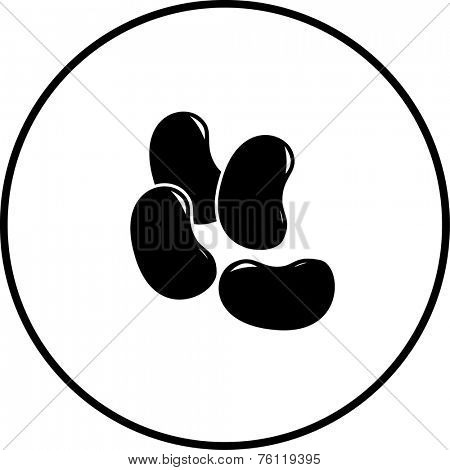 jelly beans symbol