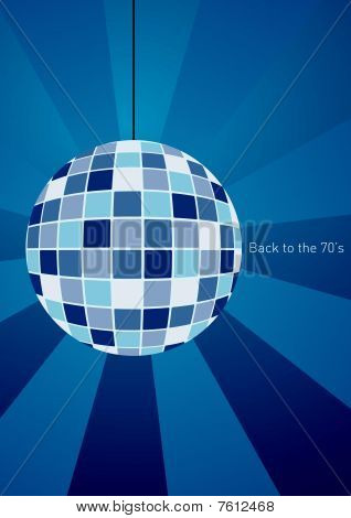 Back to eighties disco ball