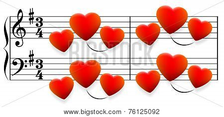Love Song Hearts